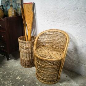 Fauteuil palmier en buri