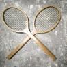 Paire de raquettes en bois | Old'Upcycling