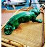 Lion en céramique | Old'Upcycling