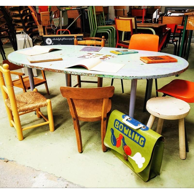 table d'activité d'école maternelle | Old'Upcycling