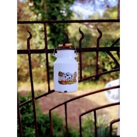 Pot à lait décor vache