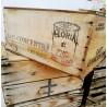 Caisse en bois lait gloria | Old'Upcycling