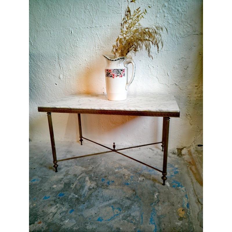 Table basse marbre style néoclassique