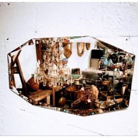 Miroir octogonal biseauté...
