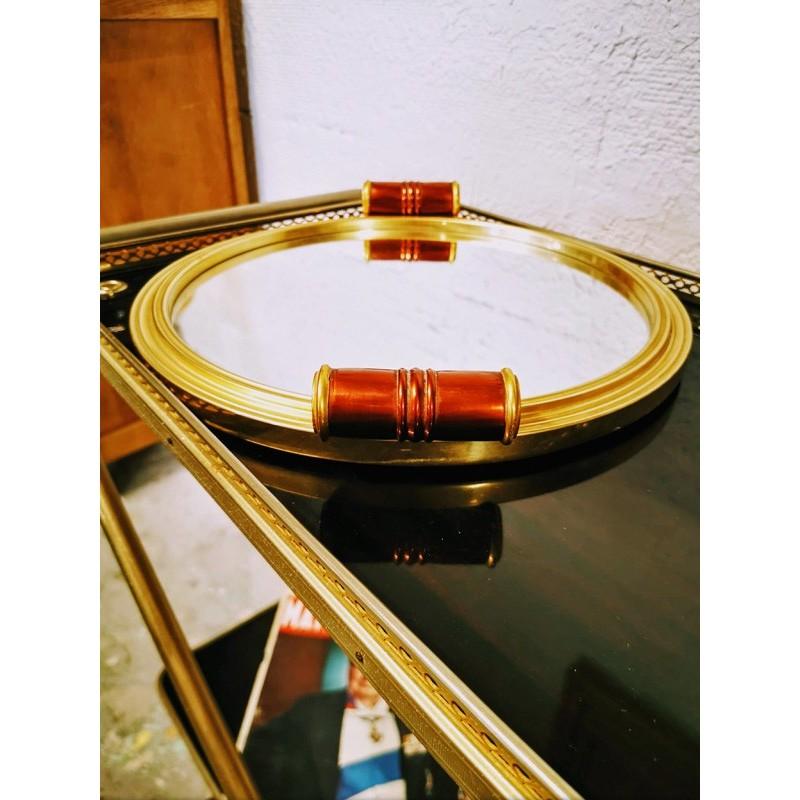 plateau miroir art déco | Old'Upcycling