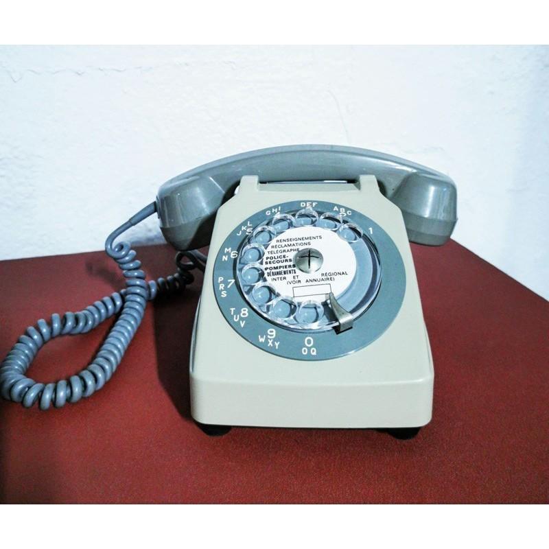 Téléphone à cadran vintage | Old'Upcycling