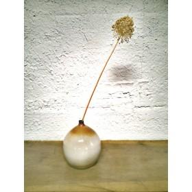 Vase boule en grès