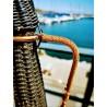 Bonbonne scoubidou vintage d'occasion | Old'Upcycling