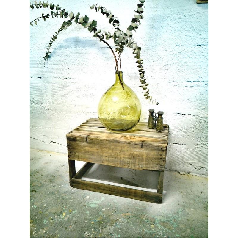 Caisse porte bouteilles en bois | Old'Upcycling
