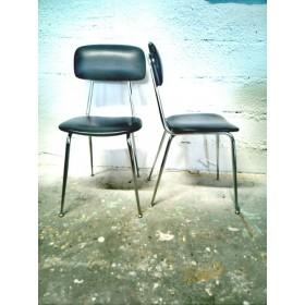 Paire de chaises vintage...