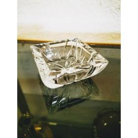Cendrier en cristal carré