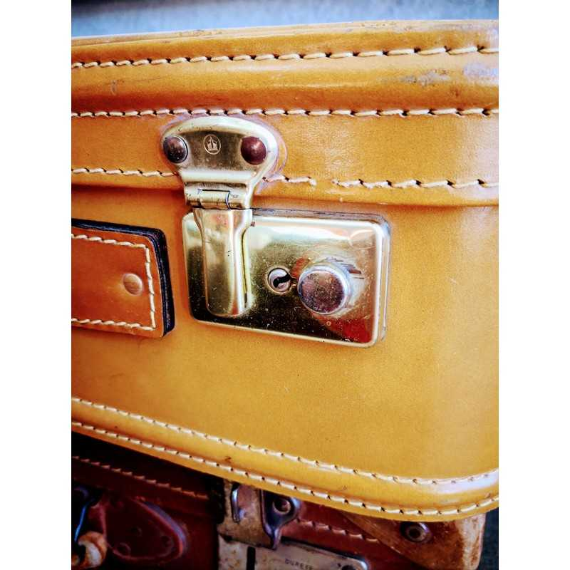 sacoche vintage en cuir
