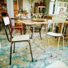 Duo de chaises en Formica | Old'Upcycling