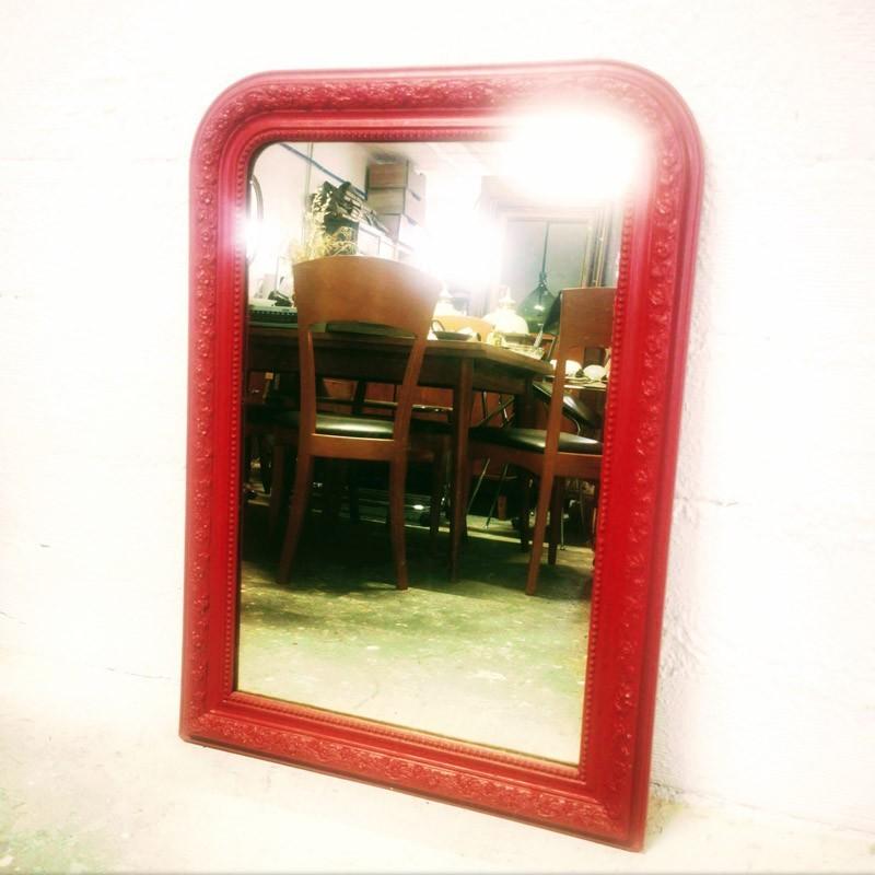Miroir de cheminée Louis Philippe 98 x 70cm | Old'Upcycling