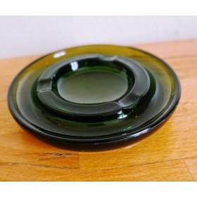 Cendrier Vert en verre