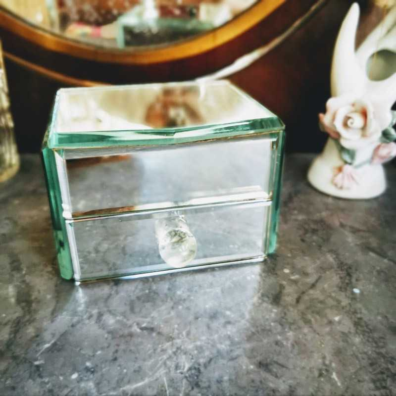 Boîte à bijoux miroir | Old'Upcycling