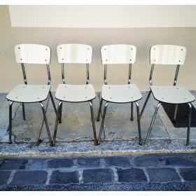 Ensembe de 4 chaises en...