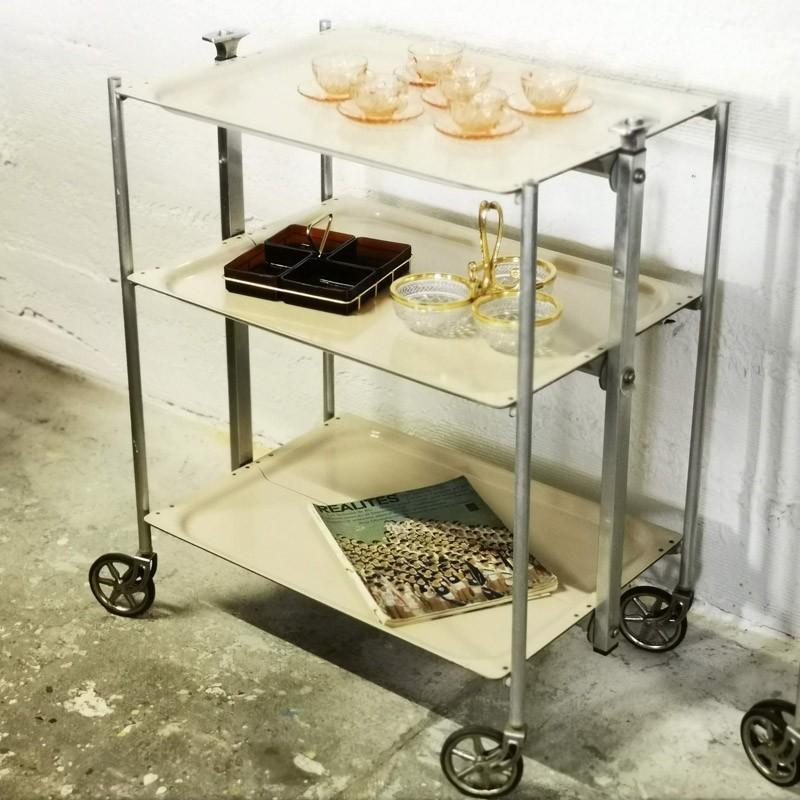 Desserte vintage pliable | Old'Upcycling