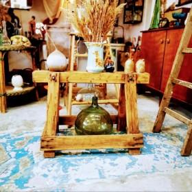 Ancien tréteau en bois