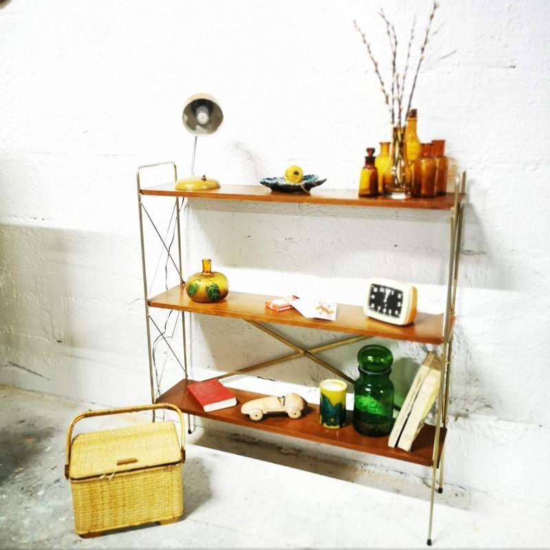 "Étagère vintage type ""string"" à poser | Old'Upcycling"