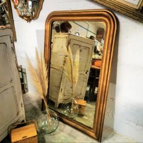 Miroir de cheminée Louis...