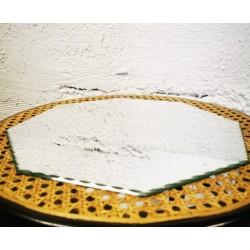 cintre vintage en simili cuir
