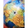 Globe terrestre tripode Taride verre 1966 | Old'Upcycling