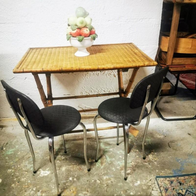 Table pliante Napoléon lll | Old'Upcycling