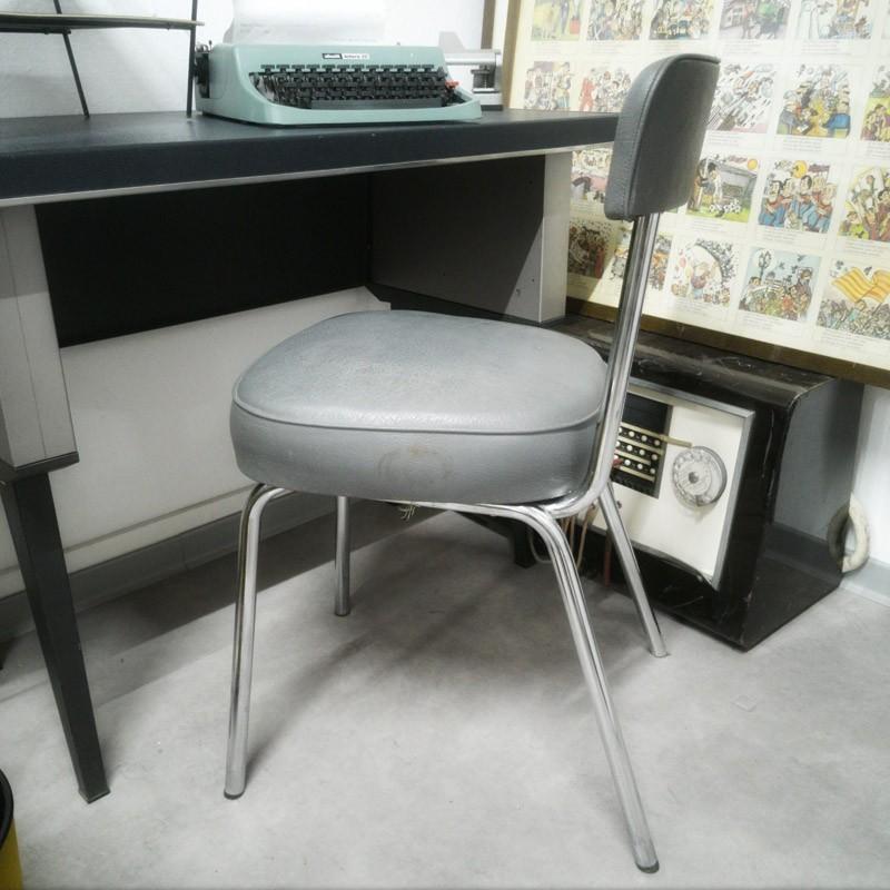 Chaise de bureau industrielle Strafor | Old'Upcycling
