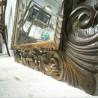 Miroir en bois sculpté | Old'upcycling