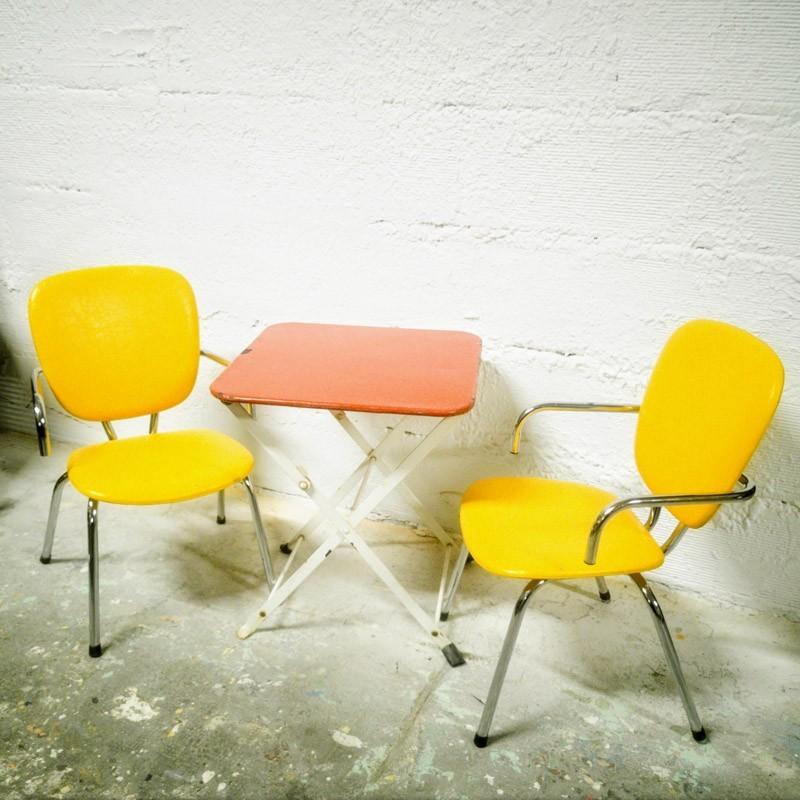 Paire de fauteuils enfant | Old'upcycling