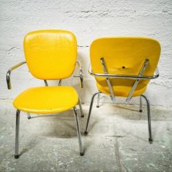 chaise vintage en formica