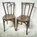 Paire de chaises ...