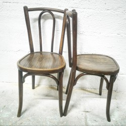 chaise vintage de bistrot