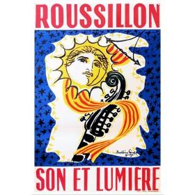 Affiche Roussillon de...