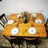 Table de ferme à rabats | Old'Upcycling