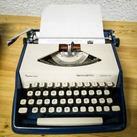 Machine à écrire Remington...