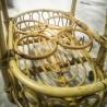 Chariot de service en rotin | Old'Upcycling