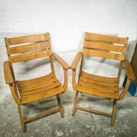 Duo de chaises de jardin...