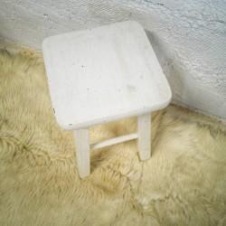table vintage pieds compas