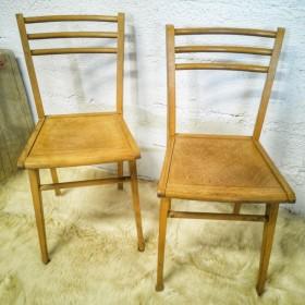 Paire de chaises bistrot...