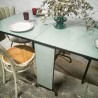 Table pliante en Formica | Old'Upcycling