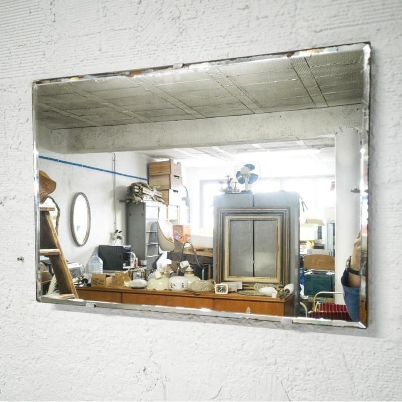 Miroir biseauté 60x42cm | Old'Upcycling