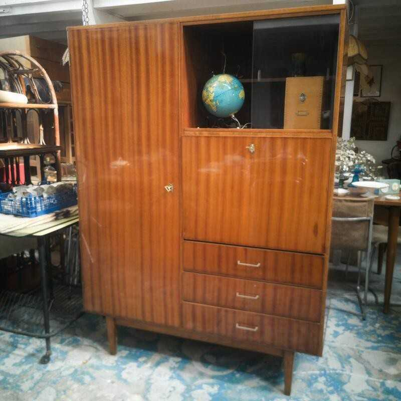 Secrétaire penderie vintage   Old'upcycling
