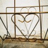 Porte-revues en métal doré | Old'Upcycling