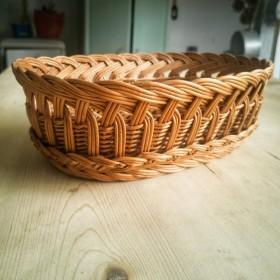 Corbeille à pain en osier