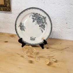Lion vert en céramique