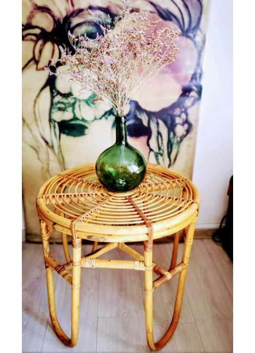 Table basse en rotin | Old'Upcycling