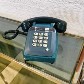Téléphone à touches vintage