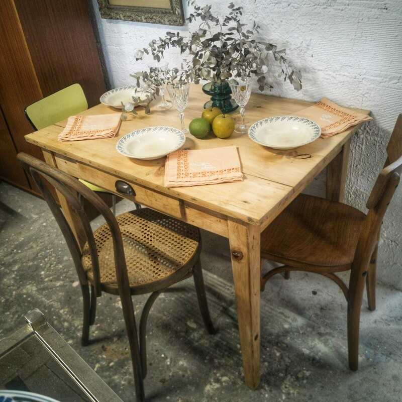 Ancienne table de ferme | Old'Upcycling